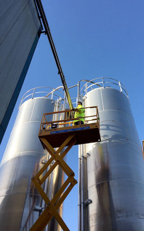 Silo Pipe Cleaning